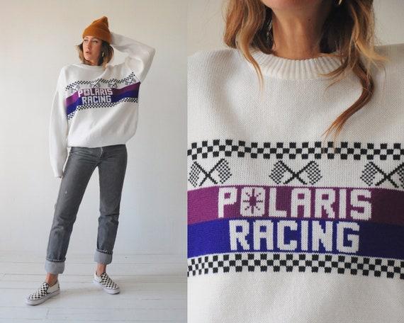 Oversized Polaris Racing Sweater