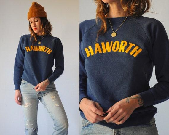 Navy Haworth Faded Sweatshirt
