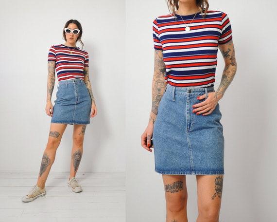 Bongo Denim Mini Skirt