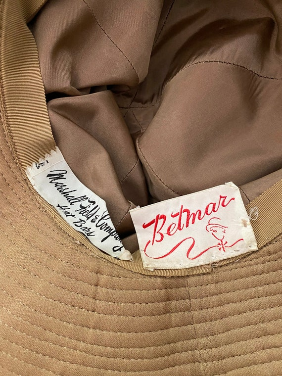 70's Wide Brim Suede Hat - image 4