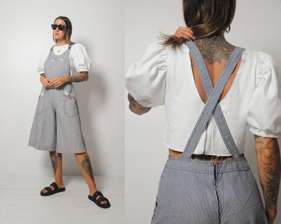 70's Hickory Stripe Jumpsuit