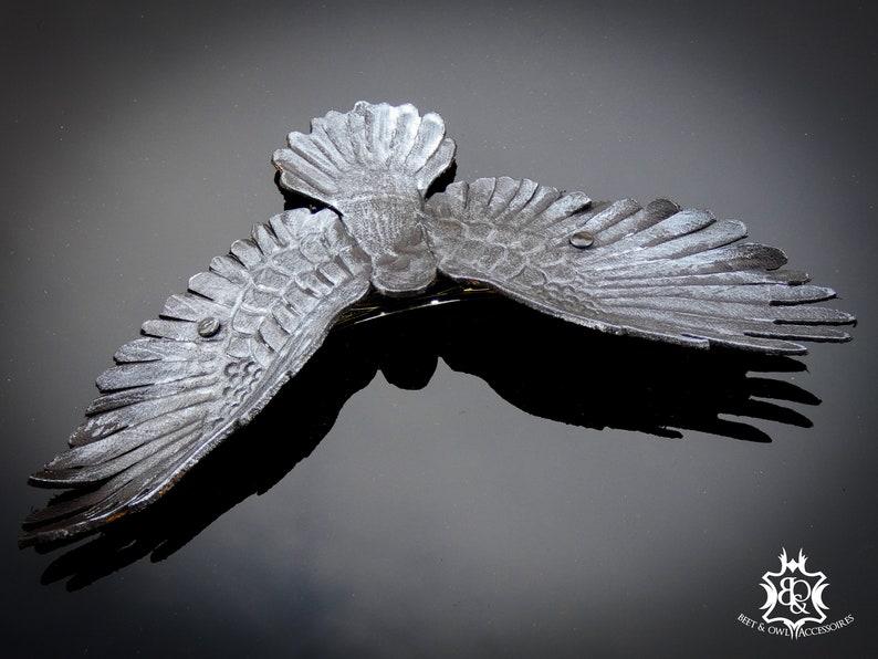 raven Hair clip