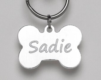 engraved pet tag etsy