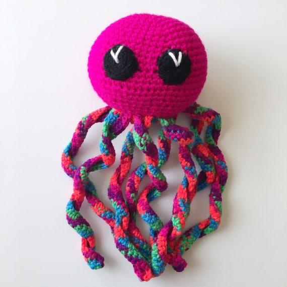 Crocheted Octopus Softie