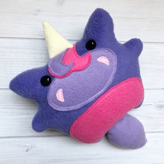 Handmade Chubby Unicorn Softie