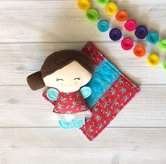 Rose Doll with Blanket