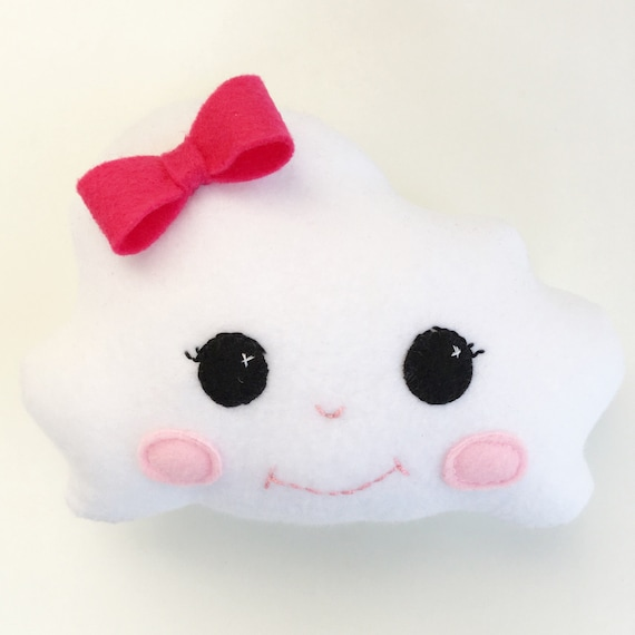 Kawaii Cloud Pillow