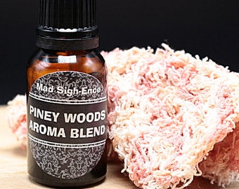 PINEY WOODS AROMABLEND, Custom Blended Pure Organic Aromatic Essential Oils
