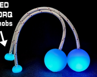 95.5mm LED Ice Contact Poi - 90mm / 95.5mm / 100mm