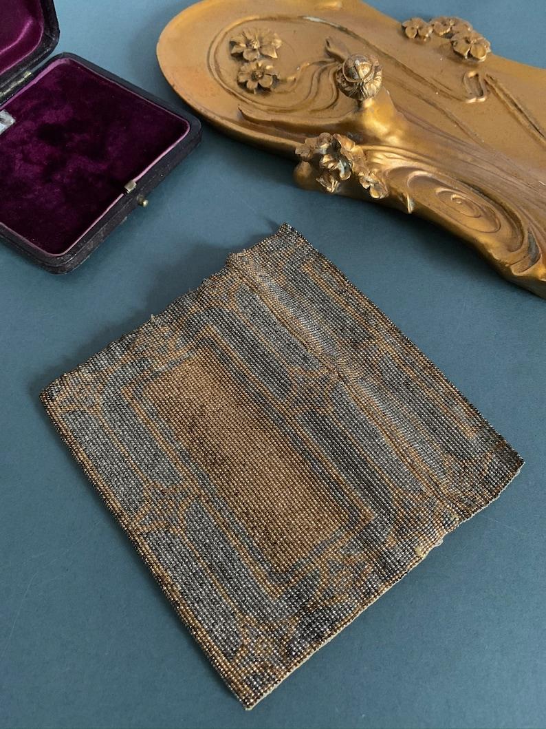 Art Deco Money Purse Antique Handbag Seed Bead Vintage Purse
