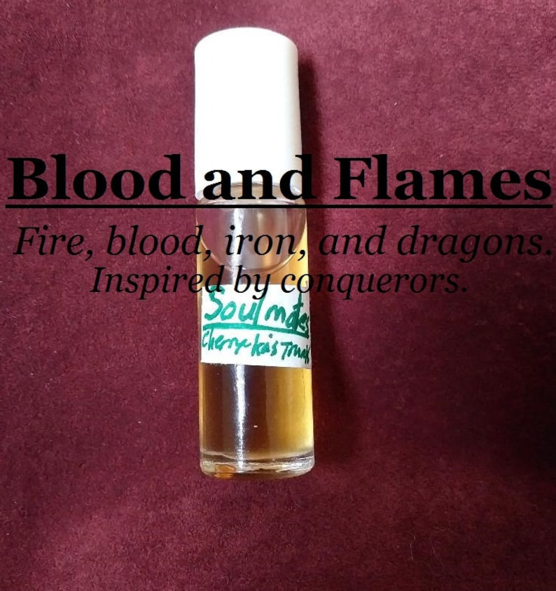 Blood and Flames fragrance favored by conquerors fire image 0