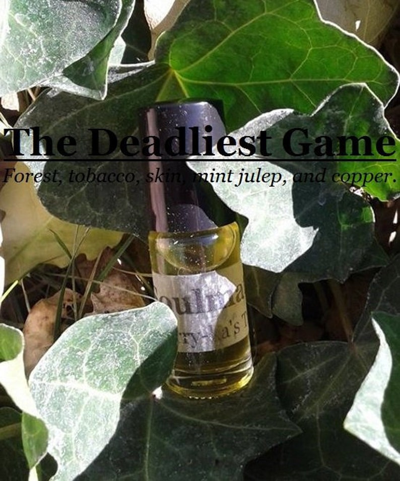 The Deadliest Game fragrance Forests tobacco musk mint image 0