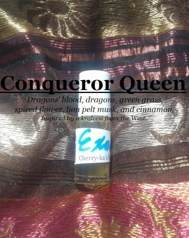 Conqueror Queen fragrance favored by an West continent image 0