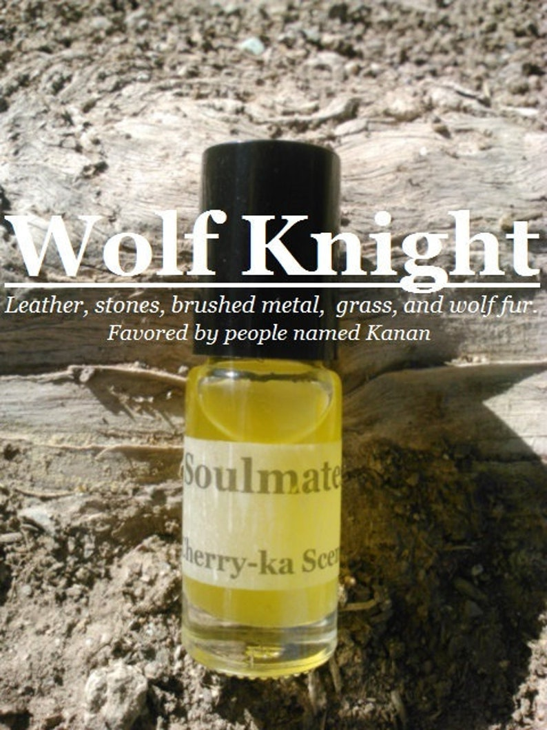 Wolf Knight fragrance inspired by people named Kanan image 0