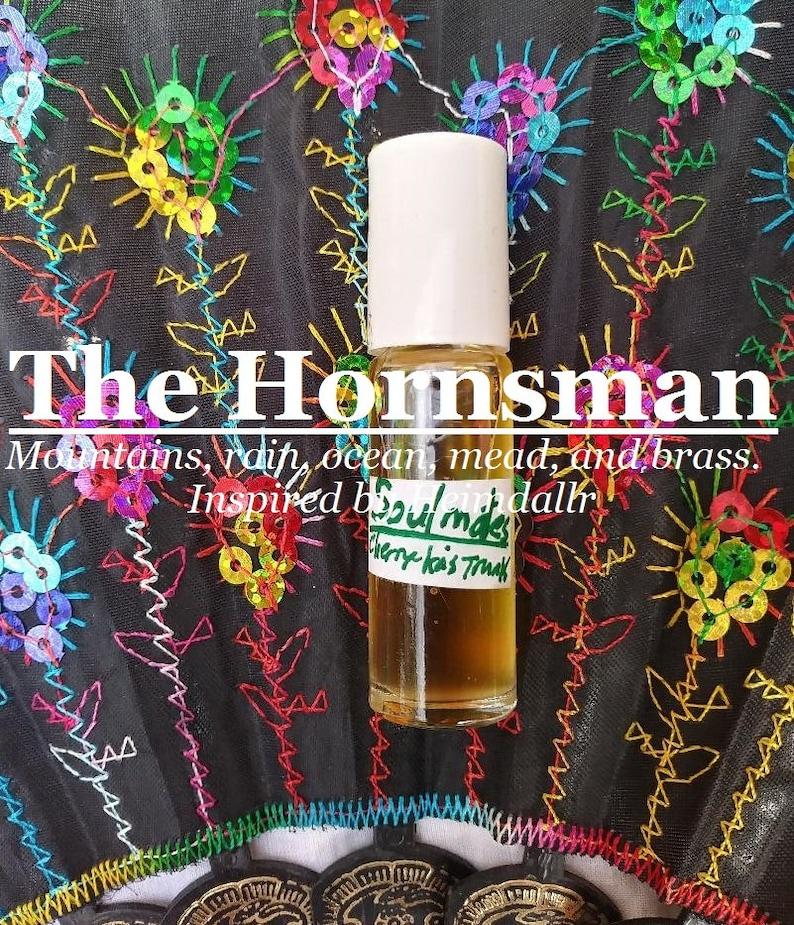 The Hornsman Heimdallr fragrance Mountains rain the image 0