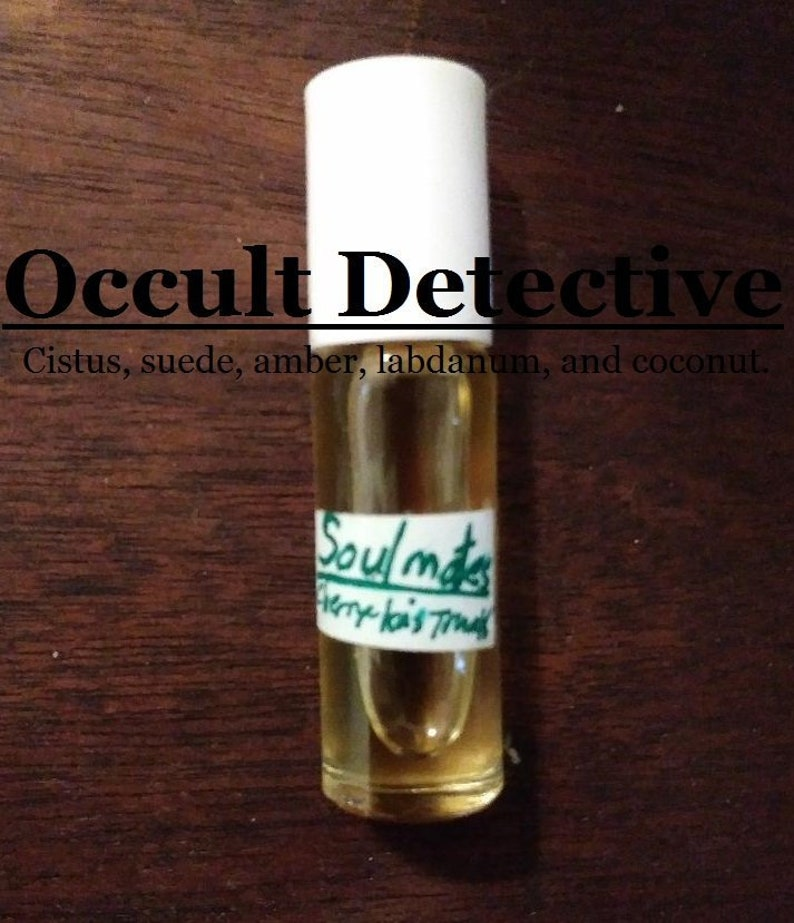 Occult Detective inspired by Thomas Carnacki Cistus suede image 0