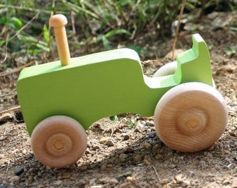 Toy Tractor-Green