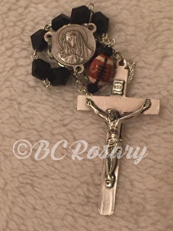 Catholic Football Auto Rosary
