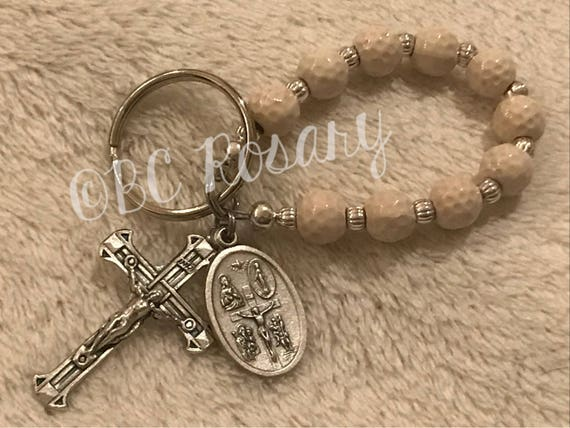 Catholic Golf Keychain