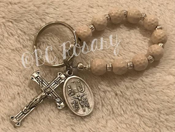 Catholic Golf Keychain