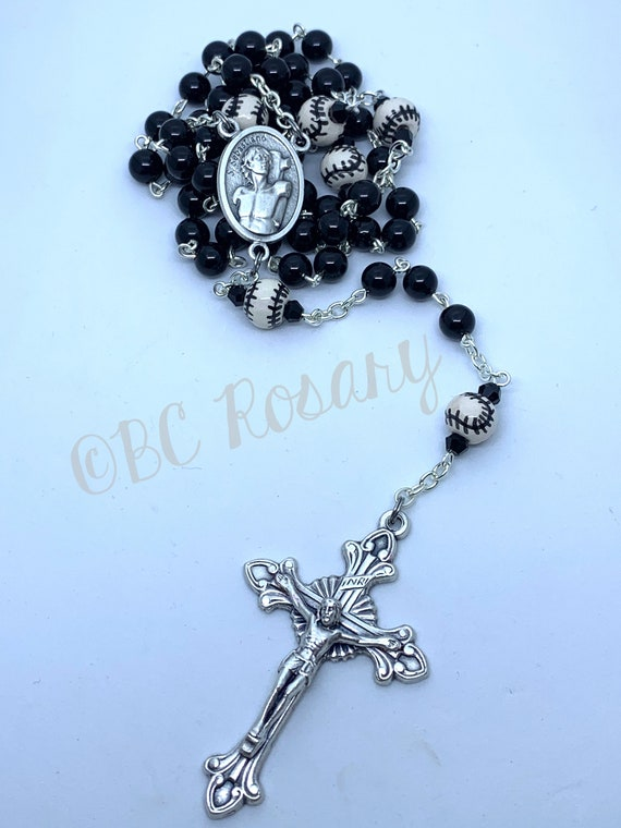 Catholic Saint Sebastain Baseball Rosary