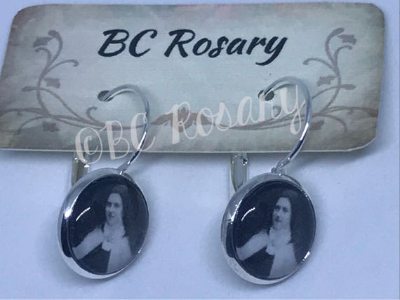 Saint Therese of Lisieux Earrings