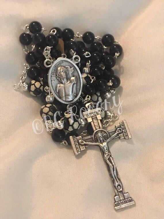 Catholic Saint Sebastian Soccer Rosary