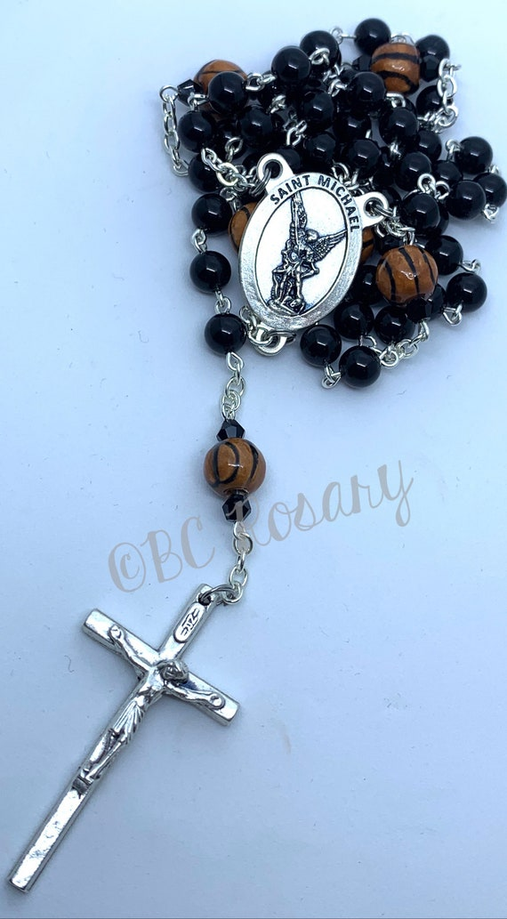 Catholic St. Michael Basketball Rosary