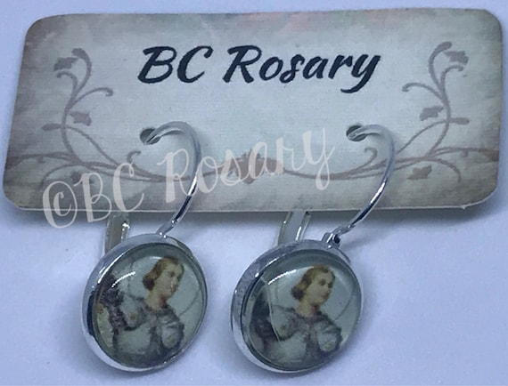 Saint Joan of Arc Earrings