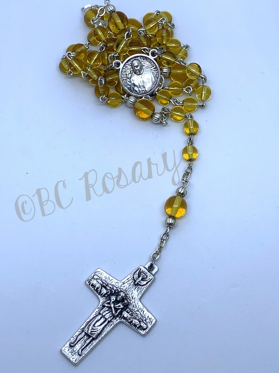Catholic Pope Francis Canary Rosary