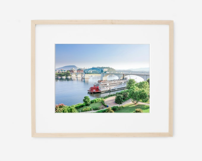 Chattanooga Photography Print, Delta Queen, Large Canvas Art, Framed Print, Chattanooga Pictures, Available on Canvas, Metal, and Wood