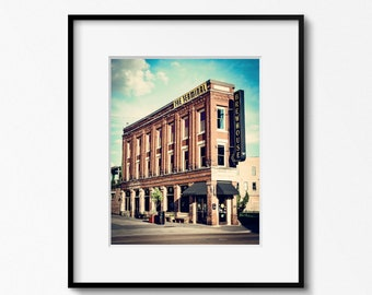 Chattanooga Photography Print, The Terminal Brewhouse, Chattanooga ChooChoo, Framed Chattanooga Art, Chattanooga Wall Art, Canvas Available