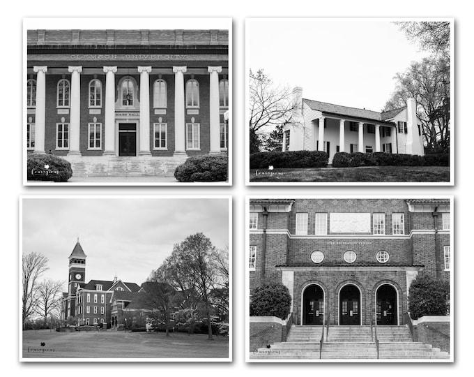 Clemson University Photography Prints, Clemson Tigers, Framed Clemson Prints, Clemson Art, Clemson Canvas Set, Historical Clemson Campus