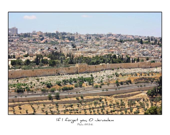 Israel Photography Scripture Print Prophetic Art Inspiration Jerusalem Travel Prints Canvas Color Black and White