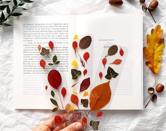 Pressed Flowers bookmark, nature bookmarks handmade, book accessories, floral bookmark, gift for gardeners, birthday gift, dried wildflowers