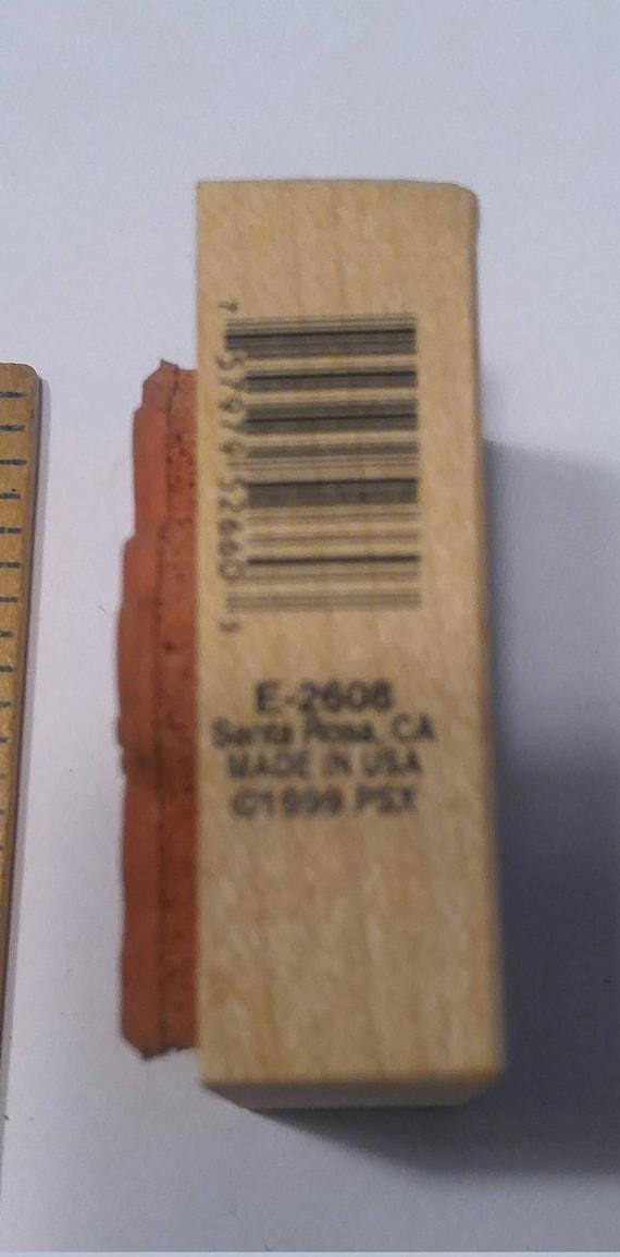 PSX épée Samauri japonais avec E-2608 RARE épée PSX bois tampon monté 1999 ad904c