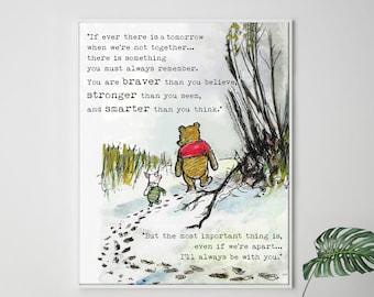 Pooh Quote Etsy