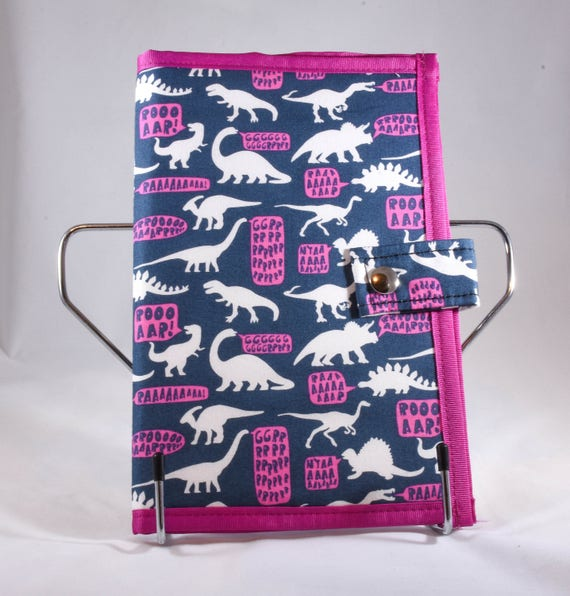 Dino Pattern Pocket Pattern Holder Chart Keeper Knitting Etsy