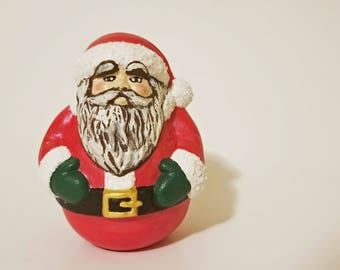 Small Ceramic Santa Claus