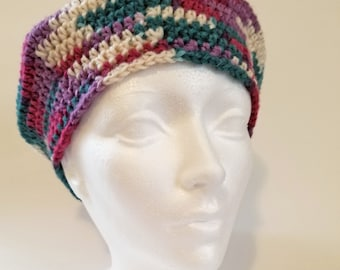 Crocheted Woman's Beret