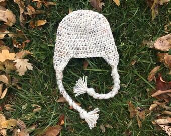 613dbe112 Ear flap baby hat | Etsy