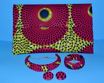Ankara Clutch,African Clutch Handbag,African Print Bag,Ankara Shoulder Bag,Statement Clutch, Ankara Bag, Ankara Print
