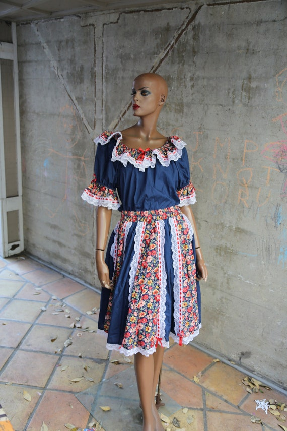 Amazing Two Piece Square Dancing Outfit Two Piece