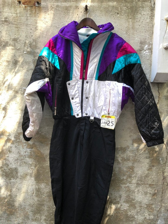 1980s Tyrolia Made in Hong Kong Ski Suit Retro Jum
