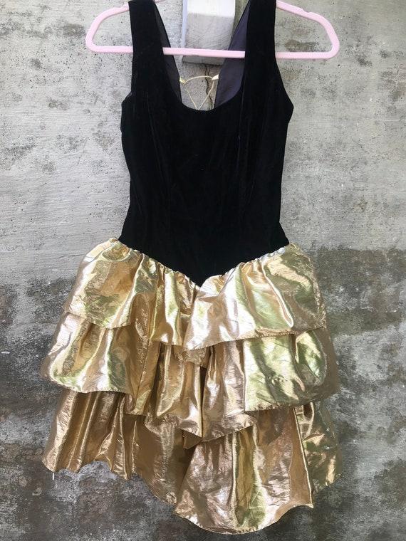 1980s Party Dress