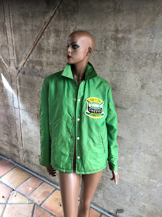 1970s Size Large 1970s Jacket Lime Green