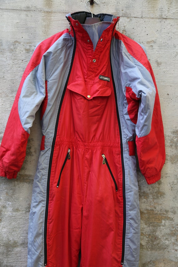 1980s SKi Suit Jumpsuit Snow Suit Skiing Ski Gear
