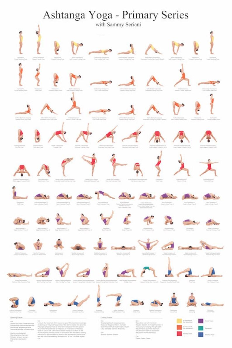 Auguri Di Natale Yoga.Poster Di Ashtanga Yoga
