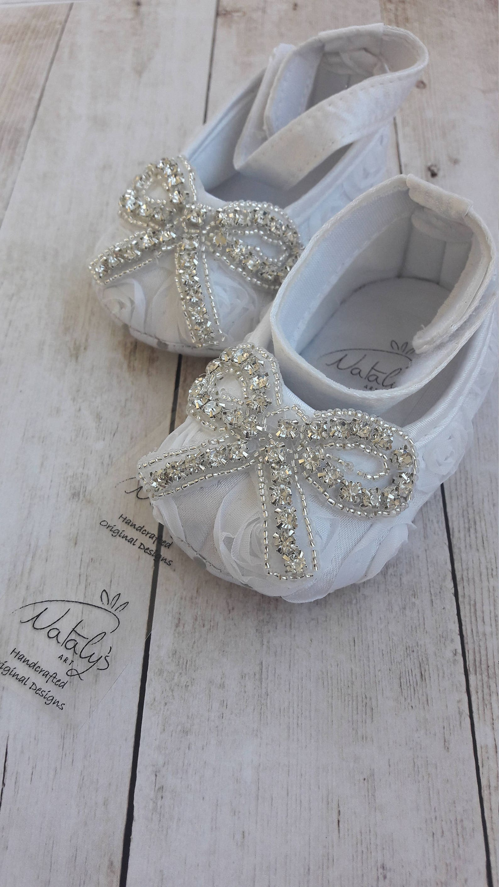baby crystal shoes baby wedding shoes baby baptism shoes christening girl shoes toddler ballet shoes flower girl shoes white cry