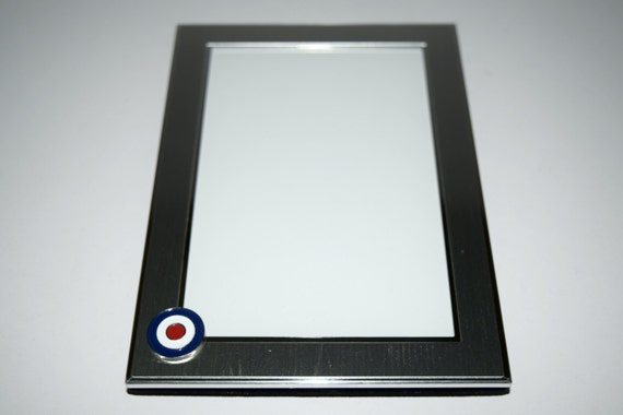 Target/Roundel/MOD/RAF Picture Frame Brushed Chrome with | Etsy